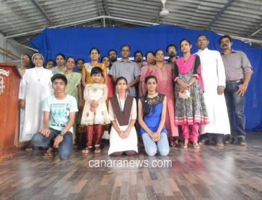 Competition and Felicitation Programme by Associations of Gangolli Church