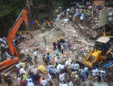Mumbai building collapse kills 12, injures 19