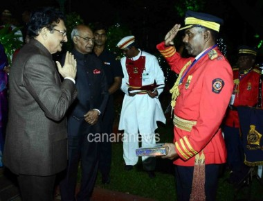 CH Vidyasagar Rao hosted dinner in honour of the President of India