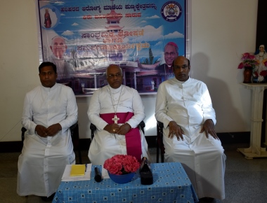 Inauguration of the Minor Basilica , Harihar