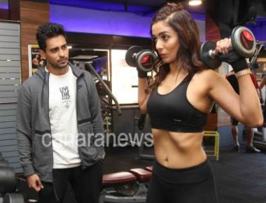 Heena Panchal Photoshoot while doing Workout in Gym
