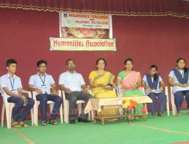 Humanities Association inaugurated at Milagres PU College, Kallianpur