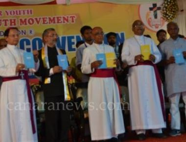 Mangaluru:  ICYM 10th National Youth Convention Concludes with a Peace Rally in the city.