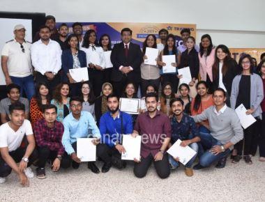 IITC Students IATA Convocation Ceremony