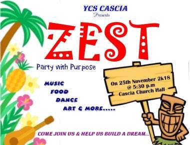 YCS CASCIA Unit to host ZEST