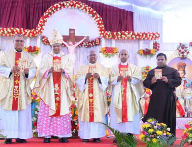 St. Joseph Book Release at Infant Jesus Shrine