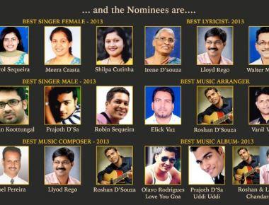 MANDD SOBHANN : 6th Global Konkani Music Award Nominees announced