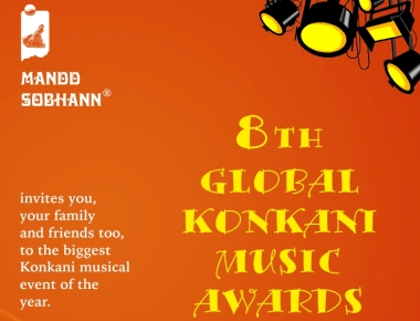 8th Global Konkani Music Awards on Sun., Dec. 11, 2016, at Kalaangann.