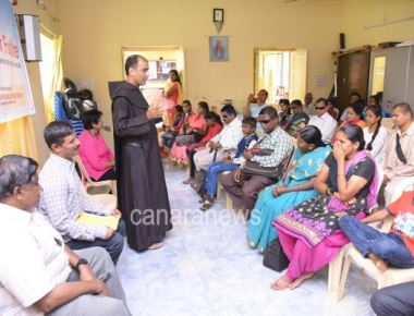 Report on the distribution of Scholarship to the children of differently abled (blind)