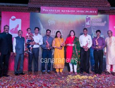 Vasundhara Das Graces 9th Global Konkani Music Awards