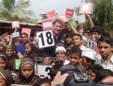 WWE wrestler John 'Bradshaw' Layfield & Slum Soccer's Project EDU-KICK give slum kids a new life