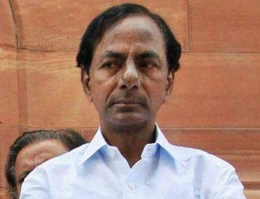 Telangana CM K Chandrashekhar Rao visits Sringeri