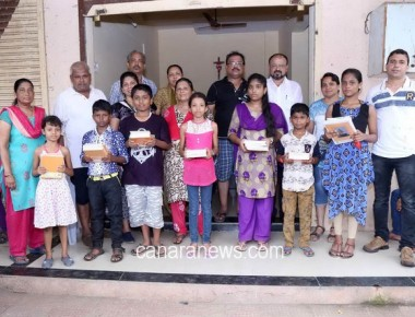 KCA Nallasopara Distributes Educational Materials to the Students