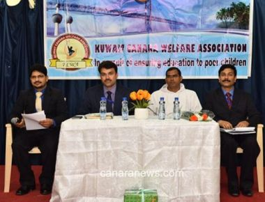 Kuwait Canara Welfare Association (KCWA) held its General Body Meeting
