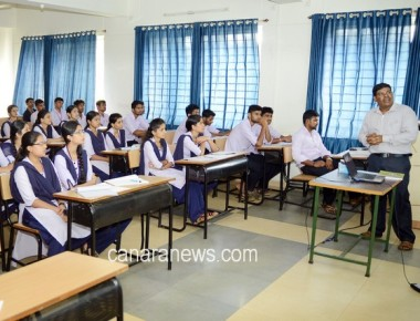 Workshop on 'KSET examination' held at St Philomena College Puttur