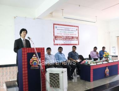 Alvs' Institute of engineering and technology orgamizes one - day workshop on nano fluid