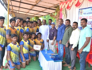 Valedictory program of  Taluk level Kabaddi tournament was held at St Philomena P.U.College, Puttur