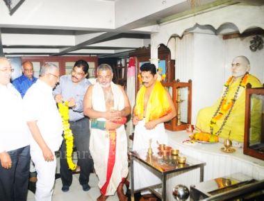 Kateel Anantha Padmanabha Asranna Visted the Billawa Bhavana and Inaugurated the workshop  for shaping the future of Children