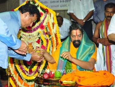 Mother Kateelu Devi Is Reflection of Kamadhenu : Manila Mohanadas Swamiji