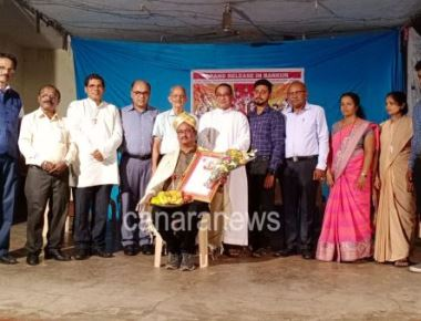 'KONKANI CINE KALA SAMRAT' AWARD BESTOWED ON DIRECTOR HARRY FERNANDES BARKUR