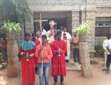 105 Children receive Sacrament of Confirmation at Risen Christ Church, Kowtal.