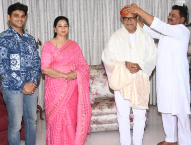 Maharashtra State BJP's newly appointed as Vice President Kripashankar Singh Felicitated at Powai by his Well wishers