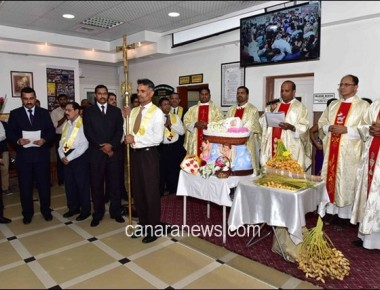 Salmiya Church Celebrated Monthi Fest