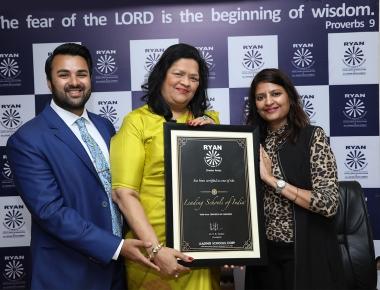 Ryan International School awarded 'Leading Schools of India'