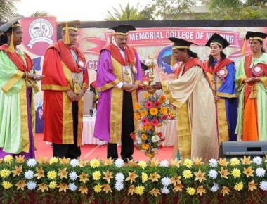 Laxmi Memorial Nursing College, institute hold graduation, annual day