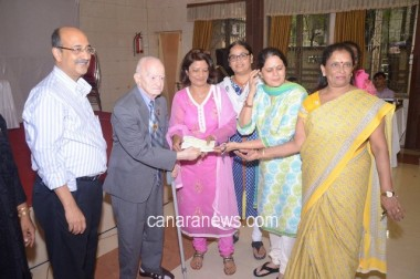 LEAF -Scholarship Program for normal Children of Visually Impaired parents held