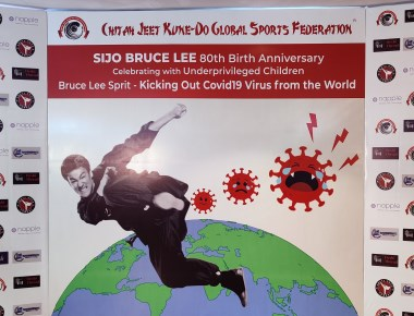 Chitah Yajnesh celebrated Bruce Lee's 80-Birthday