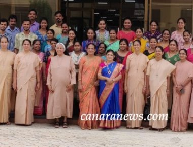 LIBRARIANS' DAY CELEBRATION AT ST AGNES COLLEGE (AUTONOMOUS), MANGALORE