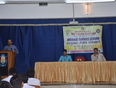 Milagres College holds orientation programme for NSS volunteers