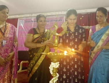Laxmi Memorial College of Nursing observes 'National Mammography Day'