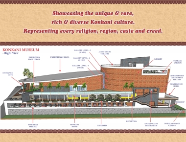 The Hon'ble Chief Minister Shri Siddaramaiah to Lay the Foundation Stone to the Konkani Museum