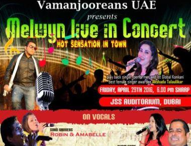 Dubai: Melwyn Live in Concert