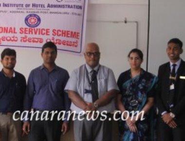 National Service Scheme of Sarosh Institute of Hotel Administration Unit organizes AROGYA - 2018 & Traffic Awareness Seminar.