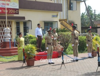 Milagres Educational Institutions celebrated the 70th Independence Day at Kallianpur