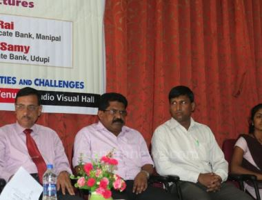 Milagres College organized Lectures on Rural Banking - opportunities and Challenges