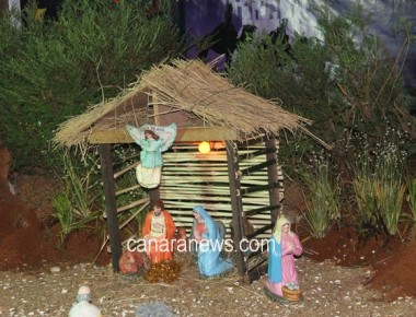 Christmas Eve celebrated at Milagres Cathedral, Kallianpur with devotion and vigor