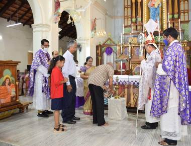 Most Rev Dr. Gerald Isaac Lobo, Bishop of Udupi diocese launches