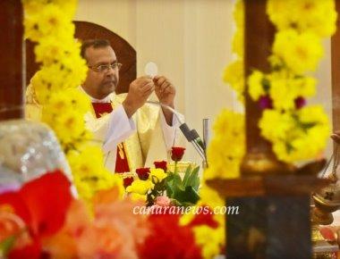 Monti Feast Celebration at St Francis Xavier Church Udyavar