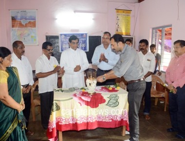 NSS Camp of St Philomena College Puttur inaugurated at Bhakthakodi