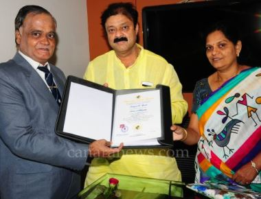 Well-wishers and fans congratulated Narayana Gowda, The MLA on receiving the esteemed Doctorate Degree