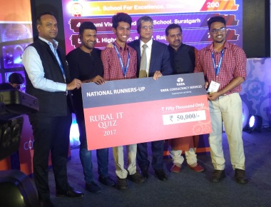 National Rural IT Quiz 2017: Little Rock Indian School, Brahmavar has created a record...