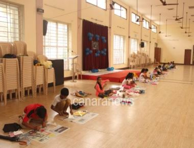 """I.C.Y.M Cascia unit organised """"Nenthyanchi Sopna"""" - Craft and Collage competition"""
