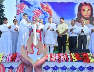 'Pavitraatma Abhishekotsava 2017' four days State level Catholic Charismatic Convention inaugurated.