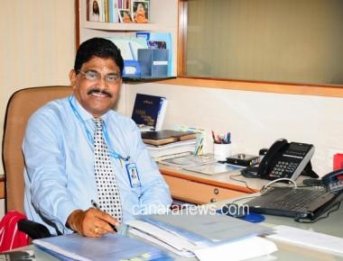 Udupi Paduthonse Nityananda D Kotian retired from Bharat Bank