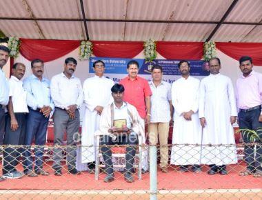 Mangalore University Inter Collegiate Football Tournament inaugurated at SPC Puttur