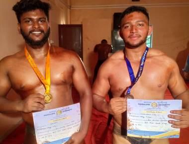St Philomena College Puttur bags Men's Best Physique Championship